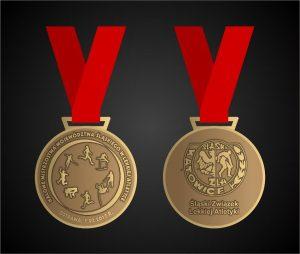 wzór medalu